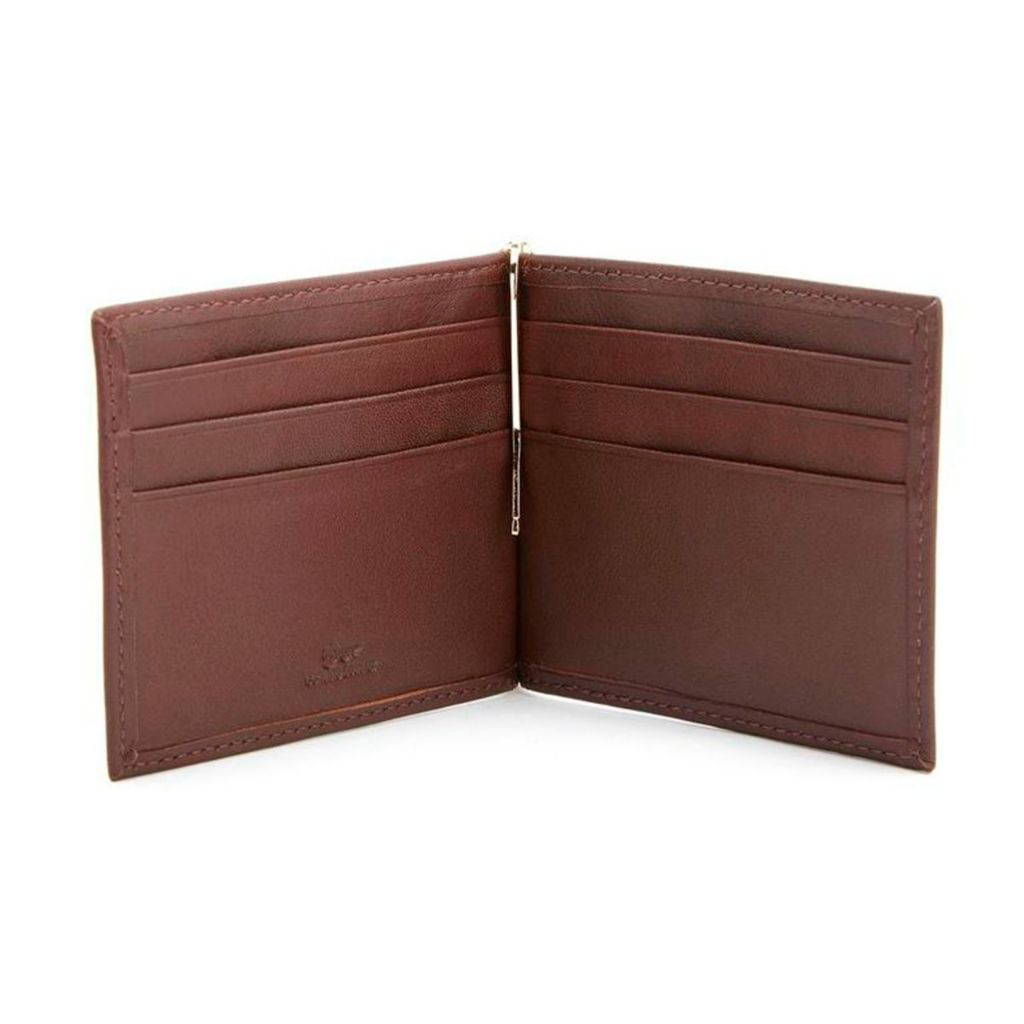 719-396 - Royce Leather Men's Cash Clip Wallet w/ Exterior Pocket