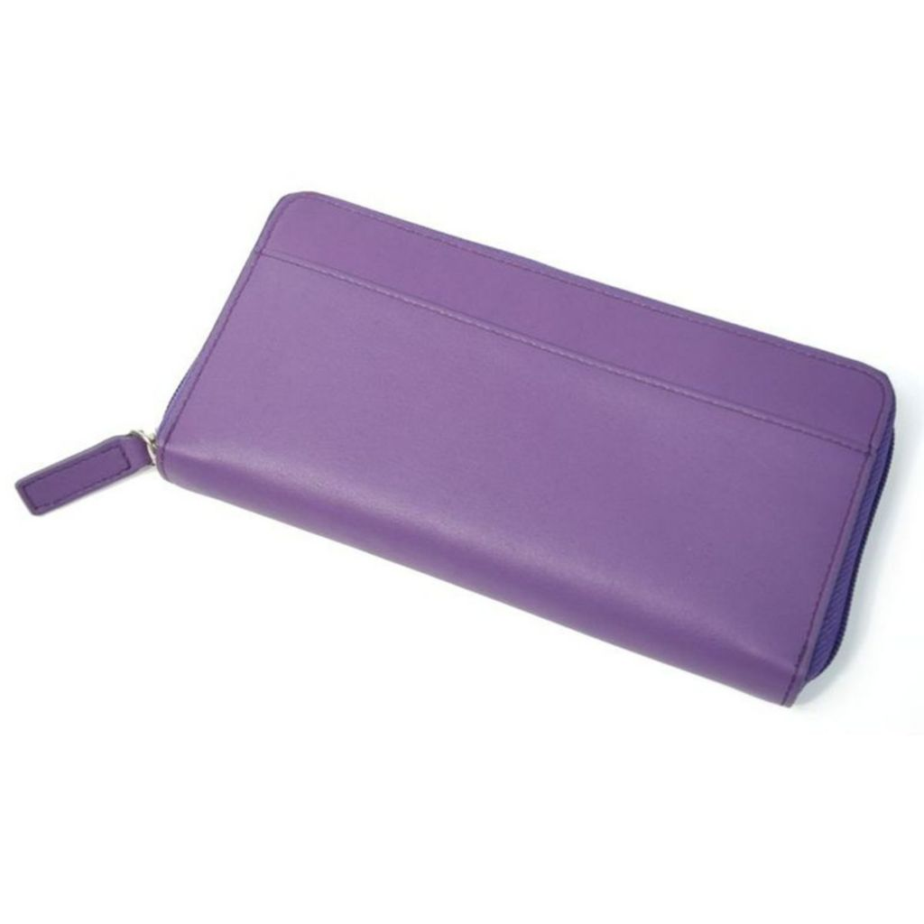 719-405 - Royce Leather iPhone Fan Wallet