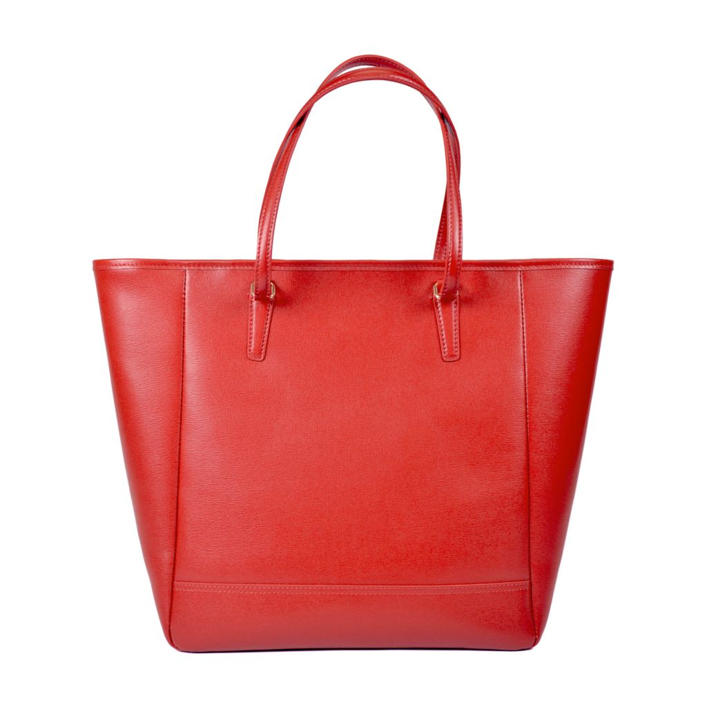 719-491 - Royce Leather Saffiano Tote Bag