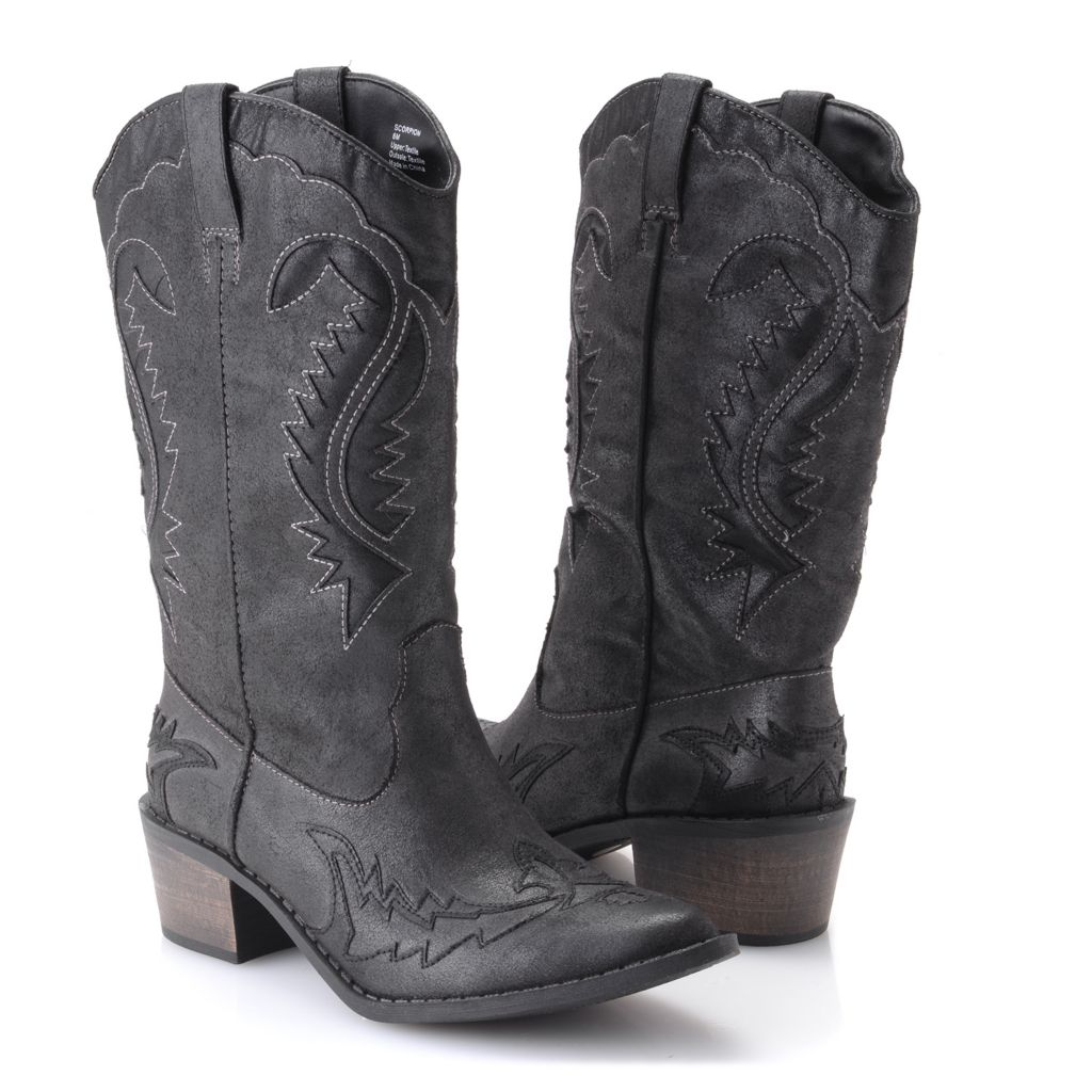 719-537 - Matisse® Embellished Western-style Mid-Calf Boots