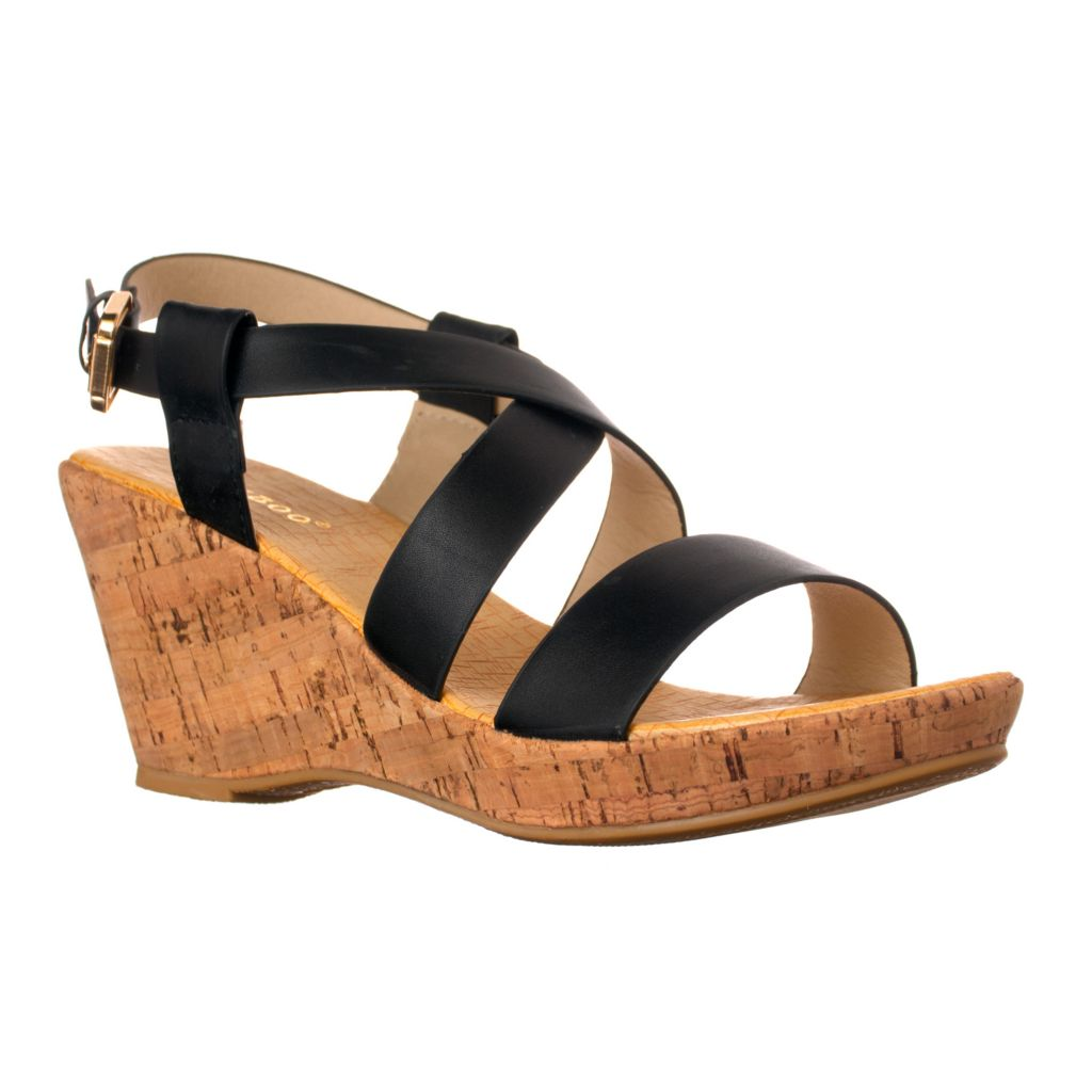 719-555 - Riverberry Slingback Wedge Sandals
