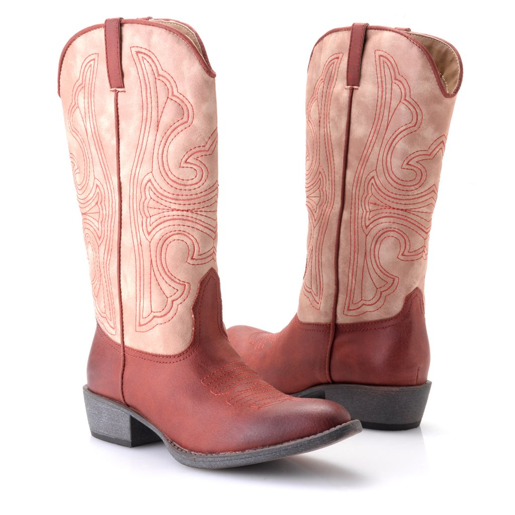 719-578 - Matisse® Western-style Pull-on Mid-Calf Boots