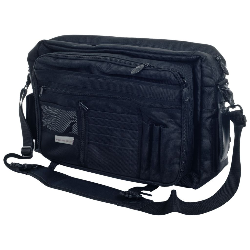 719-838 - Armor Gear Luggage Courier Bag w/ Adjustable Shoulder Strap