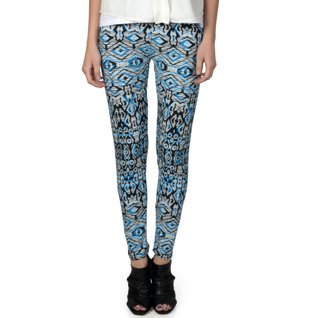 720-151 - Hailey Jeans Co. Junior's Soft Patterned Leggings