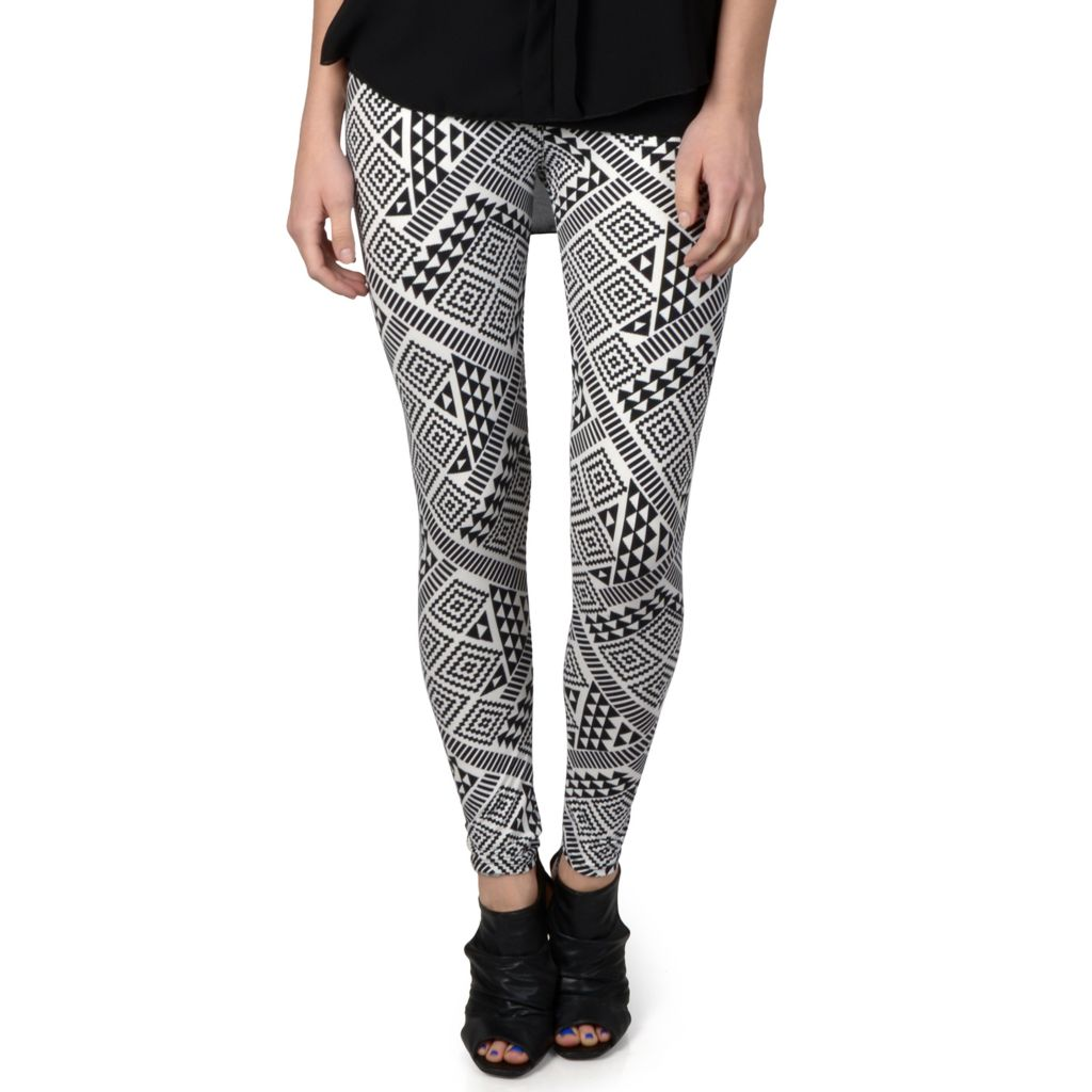 720-152 - Hailey Jeans Co. Junior's Soft Patterned Leggings