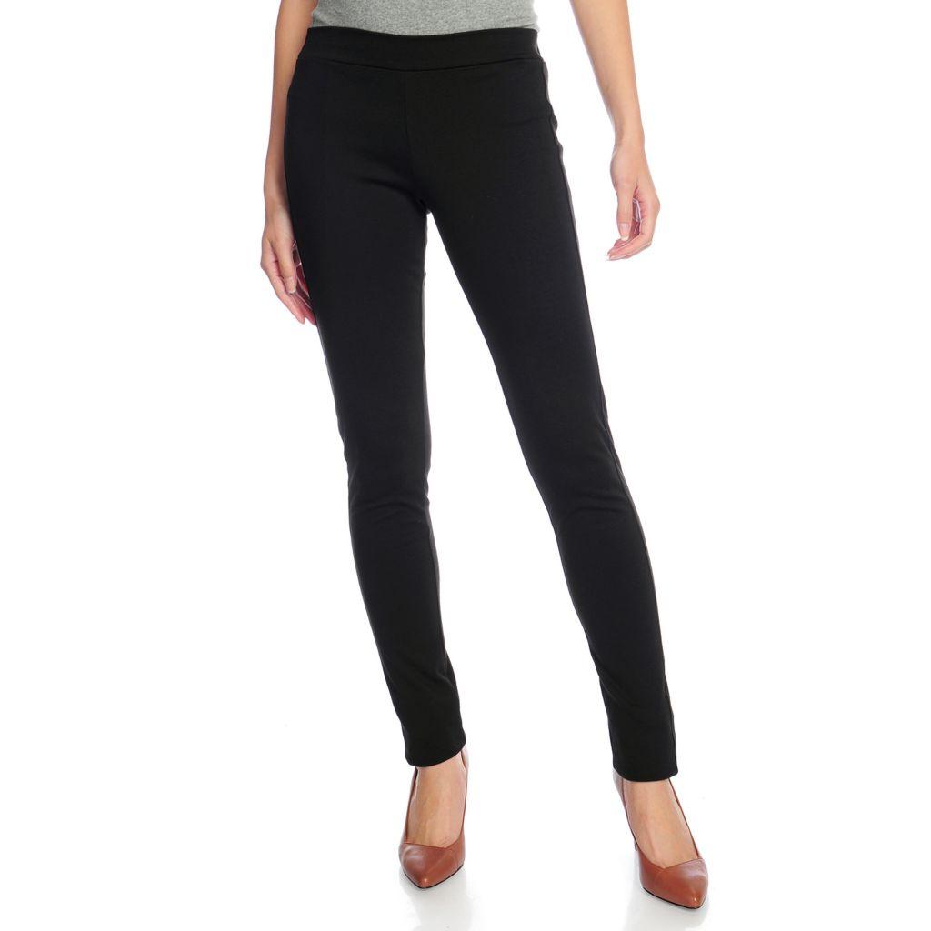 720-264 - Gramercy 22™ Ponte Knit Full Length Slim Leg Pull-on Pants