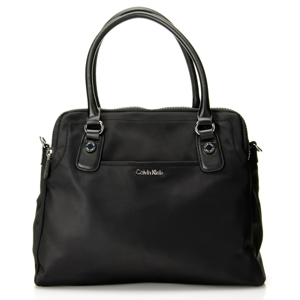 720-396 - Calvin Klein Handbags Nylon Satchel