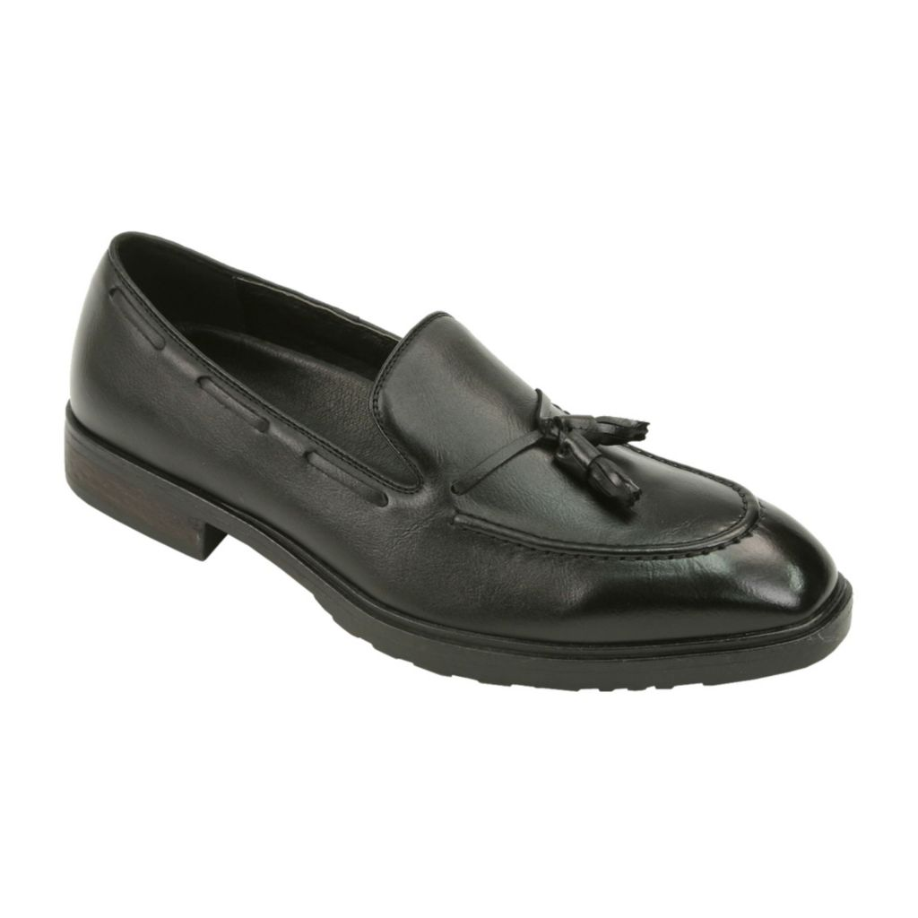 720-536 - Deer Stags Men's Leather Tassel Loafers