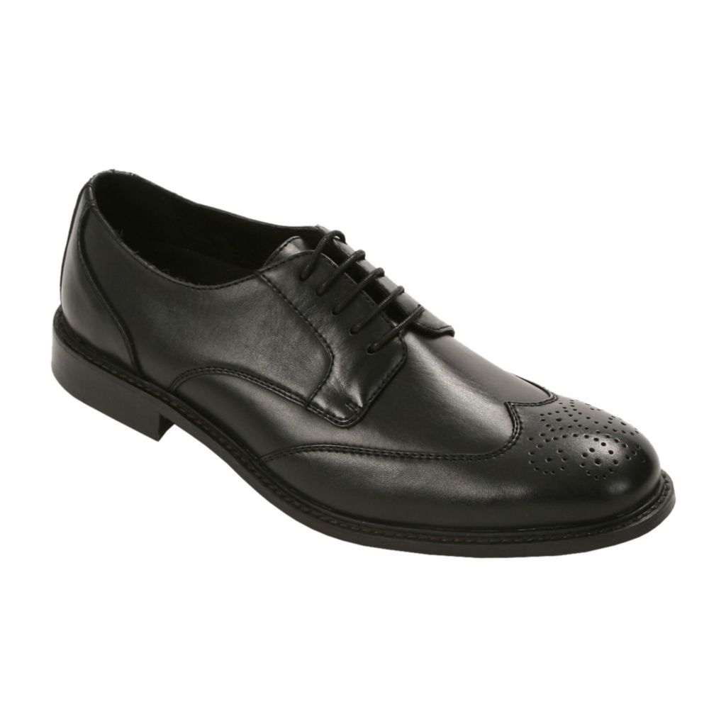 720-540 - Deer Stags Men's Leather Wingtip Oxfords