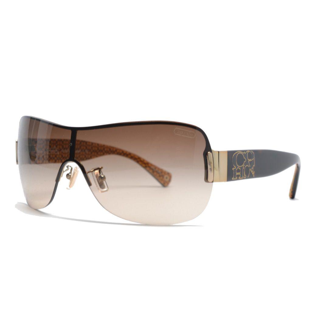 720-750 - Coach Women's Tortoise Designer Sunglasses