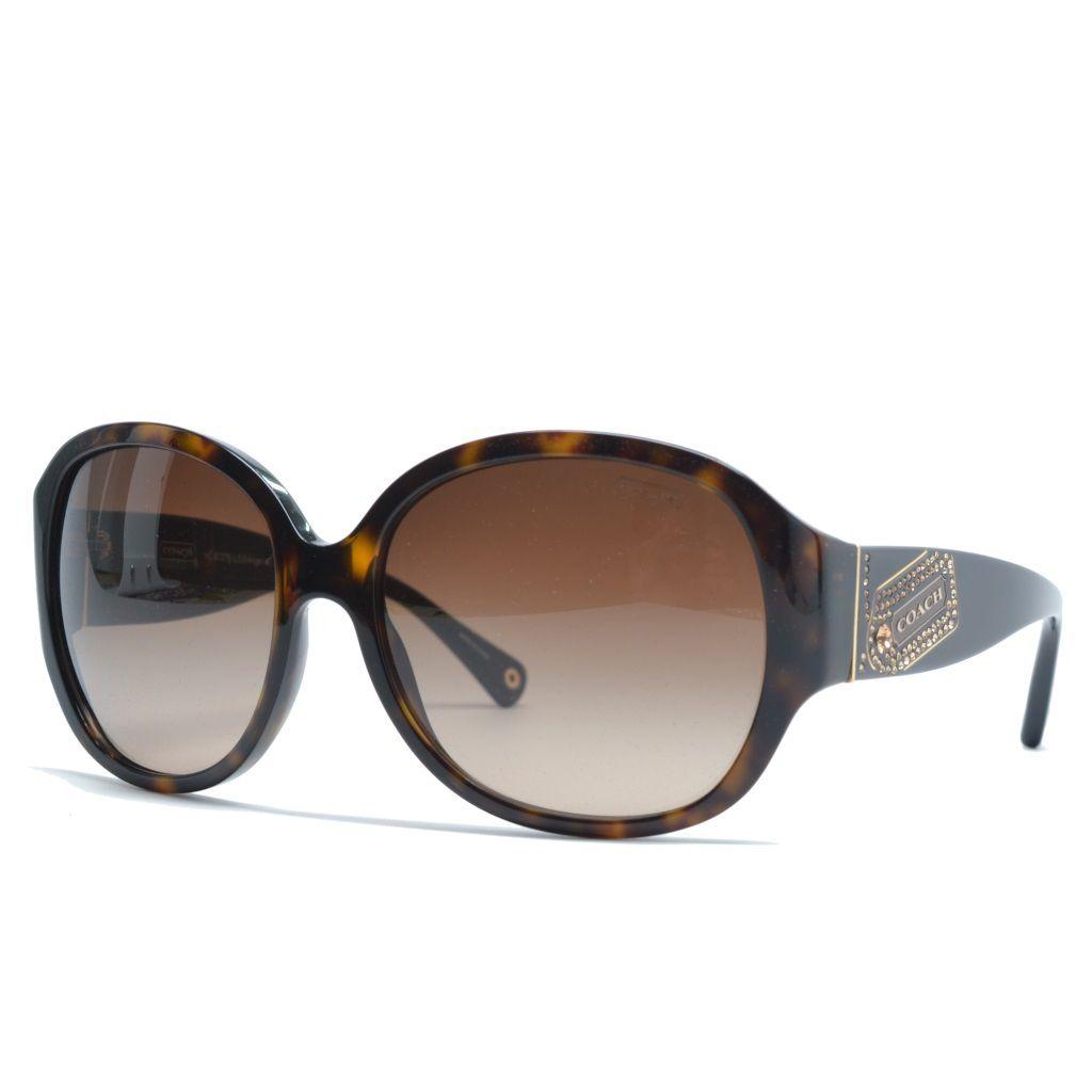 720-752 - Coach Women's Tortoise Designer Sunglasses