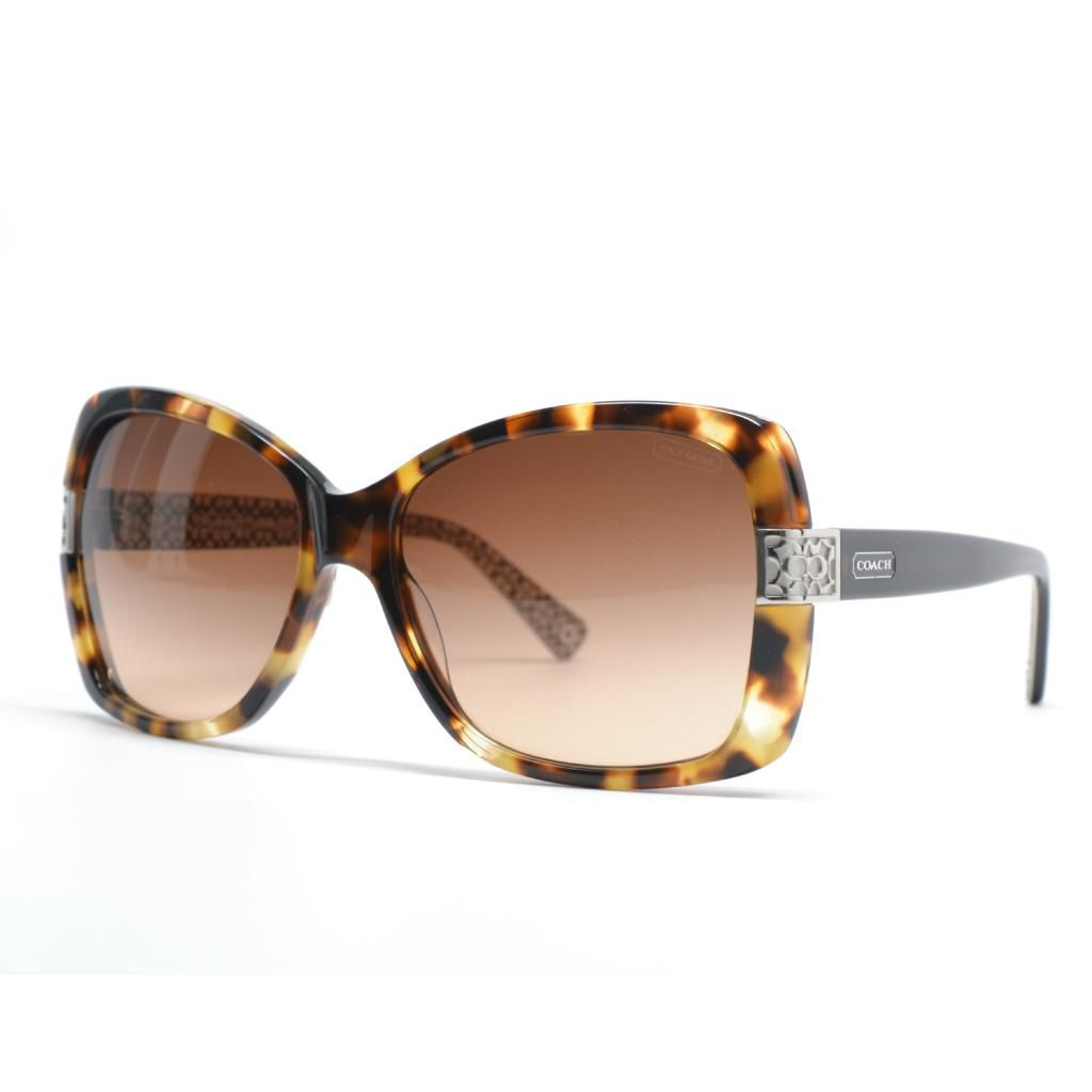 720-753 - Coach Women's Spotty Tortoise Designer Sunglasses