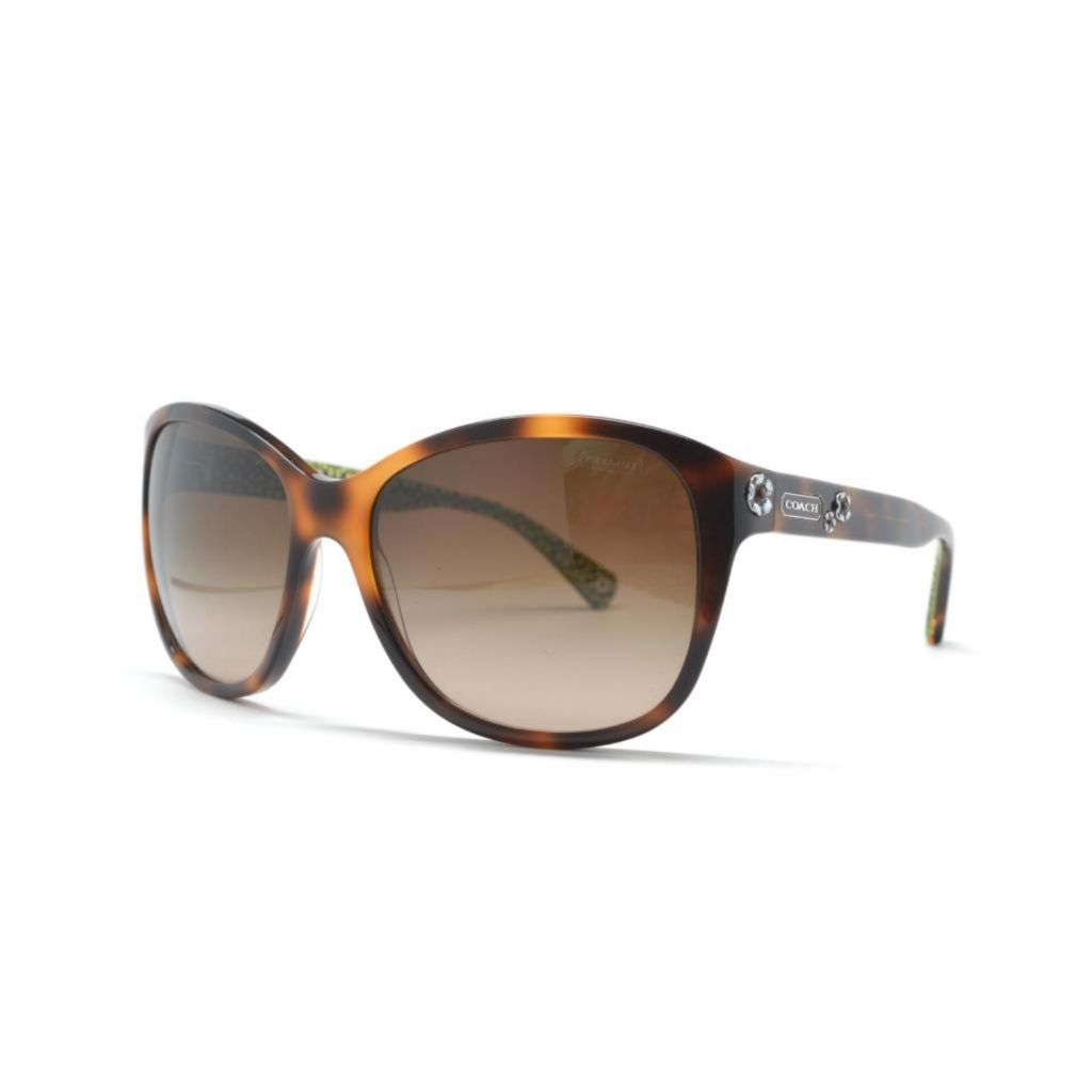720-787 - Coach Women's Havana Designer Sunglasses