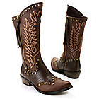 720-937 - Matisse® Stud Accented Western-Inspired Hi-Lo Boots