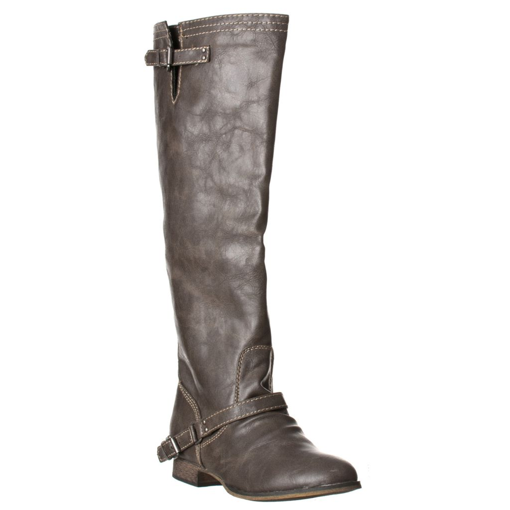 721-082 - Breckelle's by Riverberry Women's Buckle Riding Boots