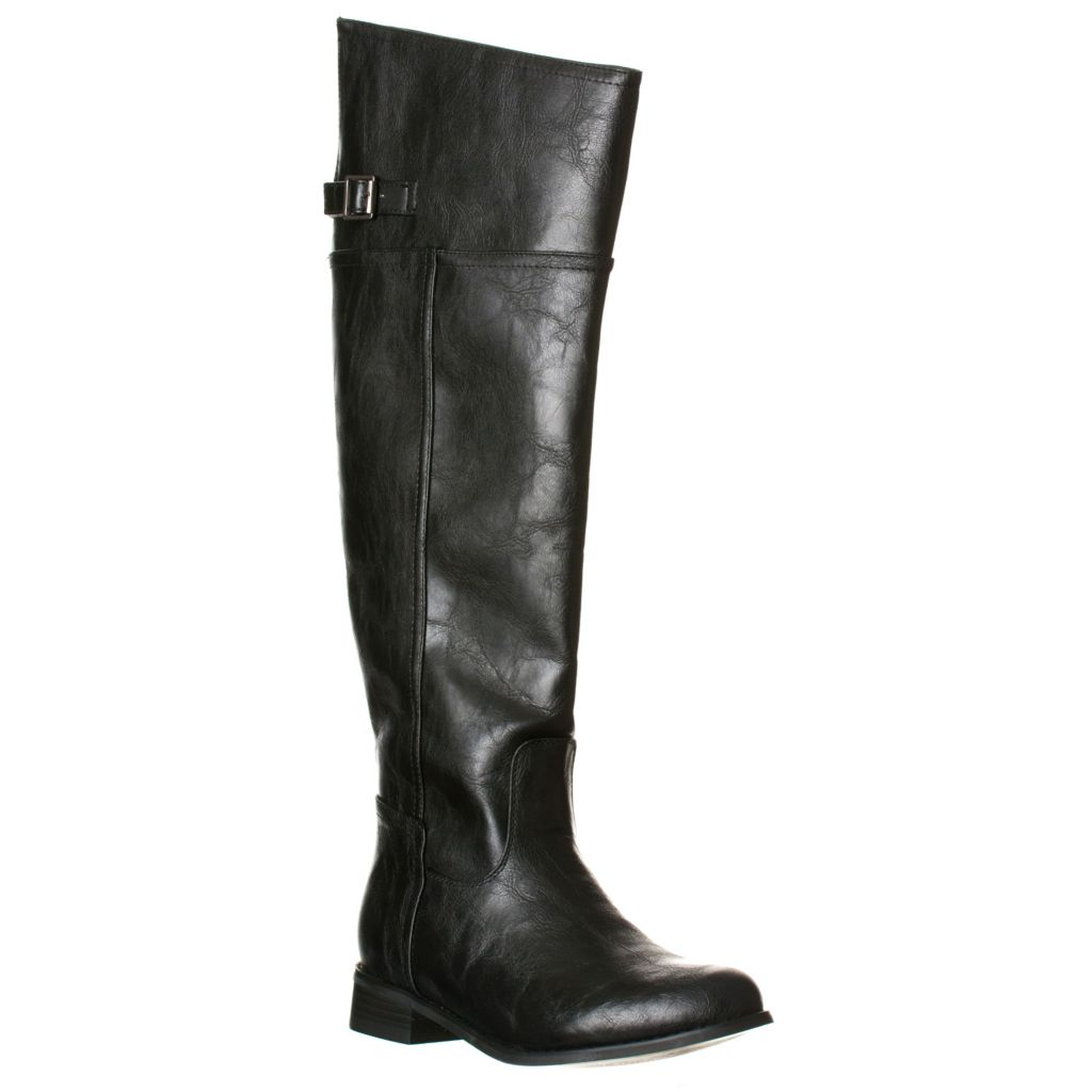 721-087 - Breckelle's by Riverberry Women's Side Zip Thigh-High Boots