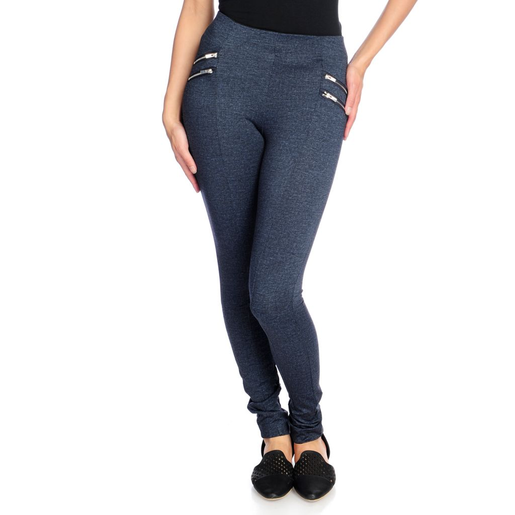 Slimming Options for Kate & Mallory® High-Density Knit Zipper ...