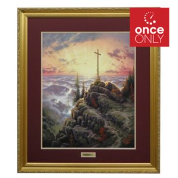 "435-482 - Thomas Kinkade ""Sunrise"" Limited Edition Framed Print"