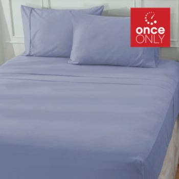 439-431 - North Shore Linens™ 600TC 100% Egyptian Cotton Sateen Four-Piece Sheet Set