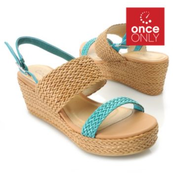 717-281 - Matisse® Woven Platform Wedge Sandals
