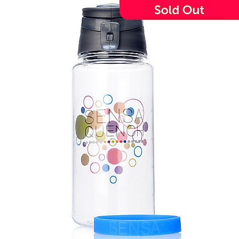 000-049 - SENSA Snap Top Water Bottle w/ Bracelet