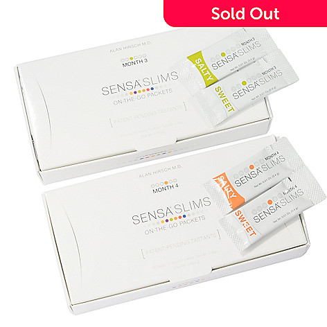 000-179 - SENSA Slims On-The-Go Packets 2 Month Set Months 3 & 4