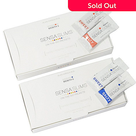 000-180 - SENSA® Slims On-The-Go Packets 2 Month Set Months 5 & 6