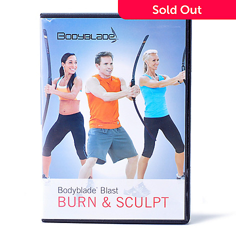 000-205 - Bodyblade Blast: Burn & Sculpt Interval Training Workout DVD