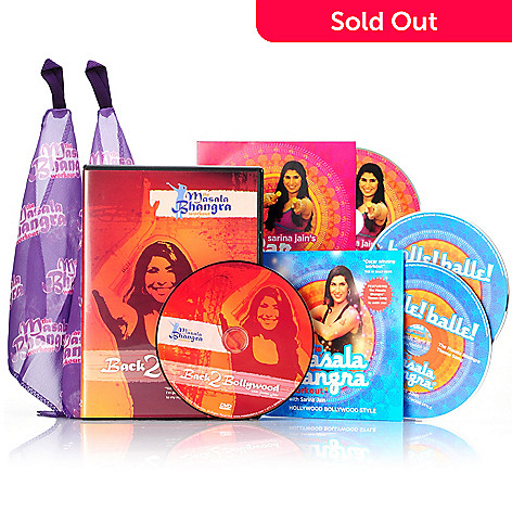 000-217 - The Masala Bhangra Workout® Five-Piece Cardio Dance Kit by Sarina Jain