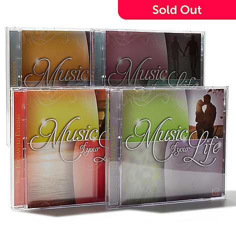 000-520 - Time Life® Music ''Music of Your Life'' Eight-Disc 120-Song CD Collection