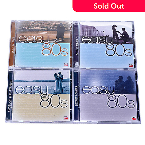 000-635 - Time Life® Music ''Easy 80s'' 8-Disc 114-Track CD Collection