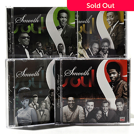 000-646 - Time Life® Music ''Smooth Soul'' 8-Disc 125-Track CD Collection