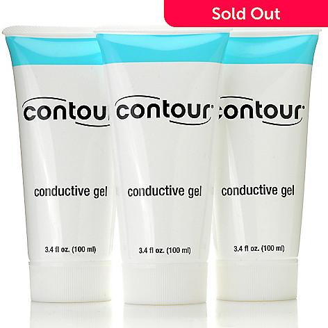 000-722 - CurvAssure Set of Three 3.4 fl oz Conductive Gels