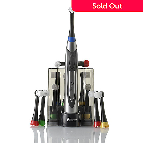 000-742 - Pursonic® Purity Pro Series S320 Rechargeable Rotary Oscillation Toothbrush w/ 12 Brush Heads
