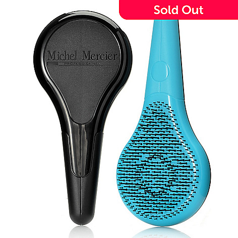 000-786 - Michel Mercier™ Set of Two Professional Detangling Hair Brushes