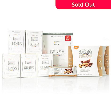 000-801 - SENSA® Six-Month Weight Loss System Blockbuster Anniversary Kit w/ Bonus Snack Bars