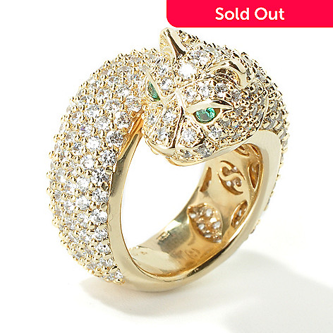 101-248 - Sonia Bitton For Brilliante Bold Panther Ring