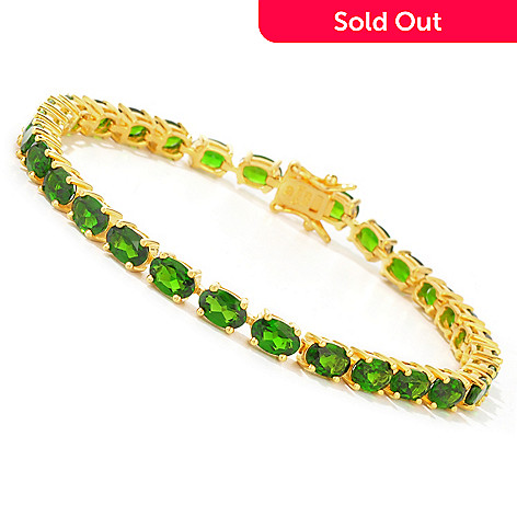 112-313 - NYC II 10.92ctw Chrome Diopside Tennis Bracelet