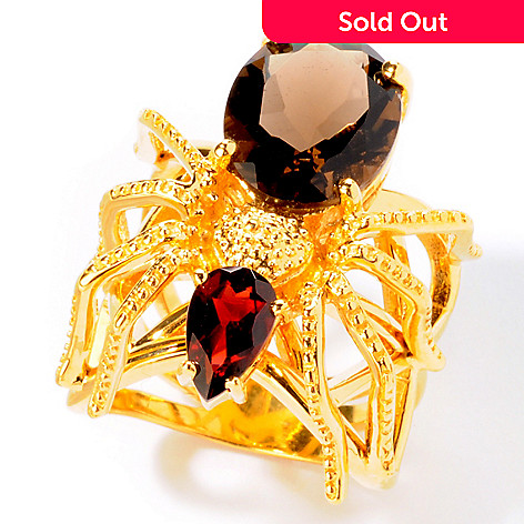 112-565 - NYC II® Multi-Gemstone Spider Ring