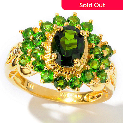 112-604 - NYC II™ 3.03ctw Chrome Diopside Ring