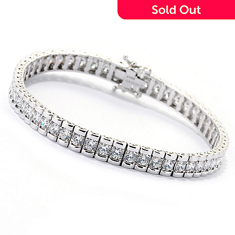 113-191 - Brilliante® Round Cut Simulated Diamond Endless Elegance Tennis Bracelet