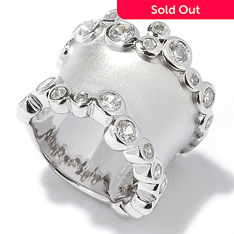 113-259 - Brilliante® Platinum Embraced™ 2.15 DEW Bubble Ring