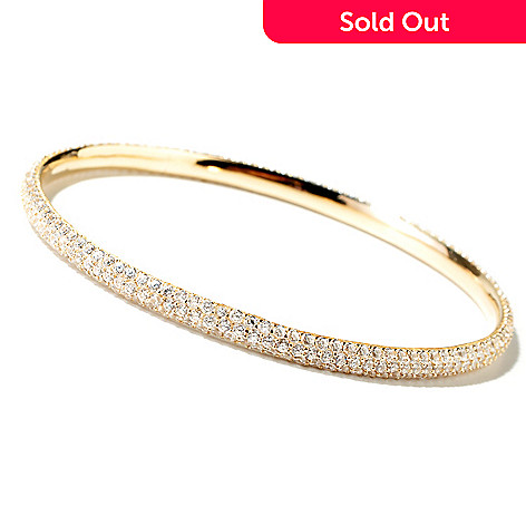 113-307 - Sonia Bitton for Brilliante® Platinum, Rose Gold or Yellow Gold Embraced Length Choice Bracelet