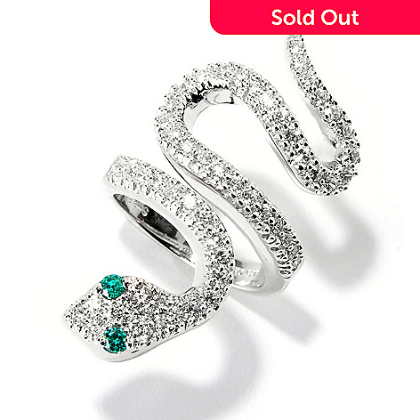 113-998 - Sonia Bitton For Brilliante 1.67ctw DEW Snake Ring