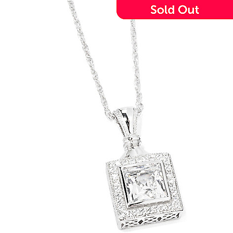 114-157 - TYCOON for Brill Platinum Embraced[ 2.32 DEW Pendant w/ Chain