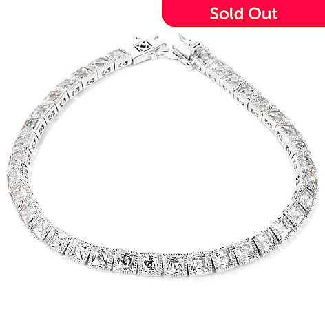 114-171 - TYCOON for Brill Platinum Embraced[ Tycoon Cut Tennis Bracelet