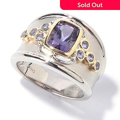 114-725 - NYC II 1.28ctw Amethyst & Iolite Ring