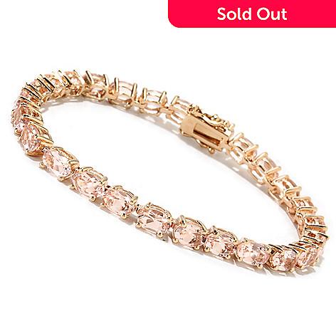 115-087 - NYC II™ Oval Morganite Tennis Bracelet
