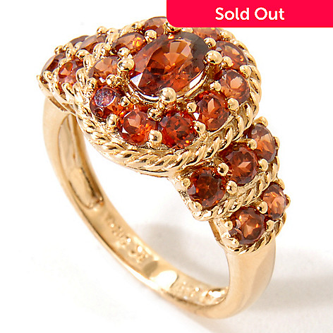 115-187 - NYC II 2.96ctw Mocha Zircon Ring