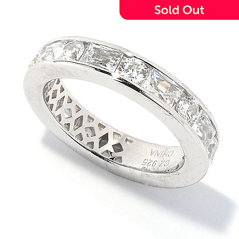 117-452 - TYCOON for Brill[ Platinum Embraced[ 2.92 DEW Eternity Ring